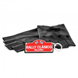 "Llavero con placa ""RALLY..."
